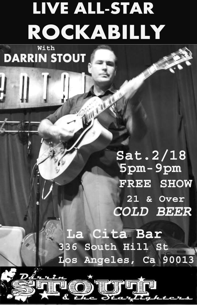 Darrin Stout Feb 18 La Cita Poster STOUT LOGO copy